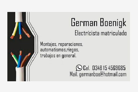 GB Electricista matrículado